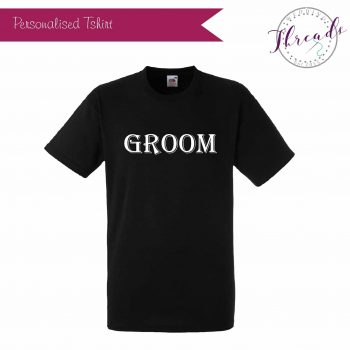 Groom wedding tshirt