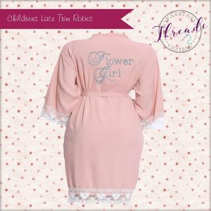 Childrens Lace Cuff Robes