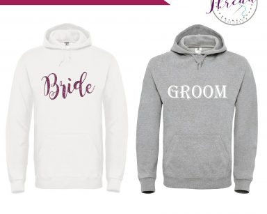 His and Hers Hoodies