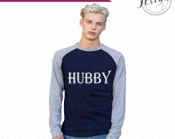 Hubby wedding Baseball top