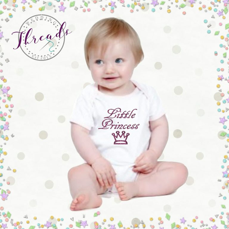 Little Princess baby vest
