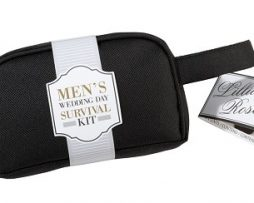mens wedding survival kit