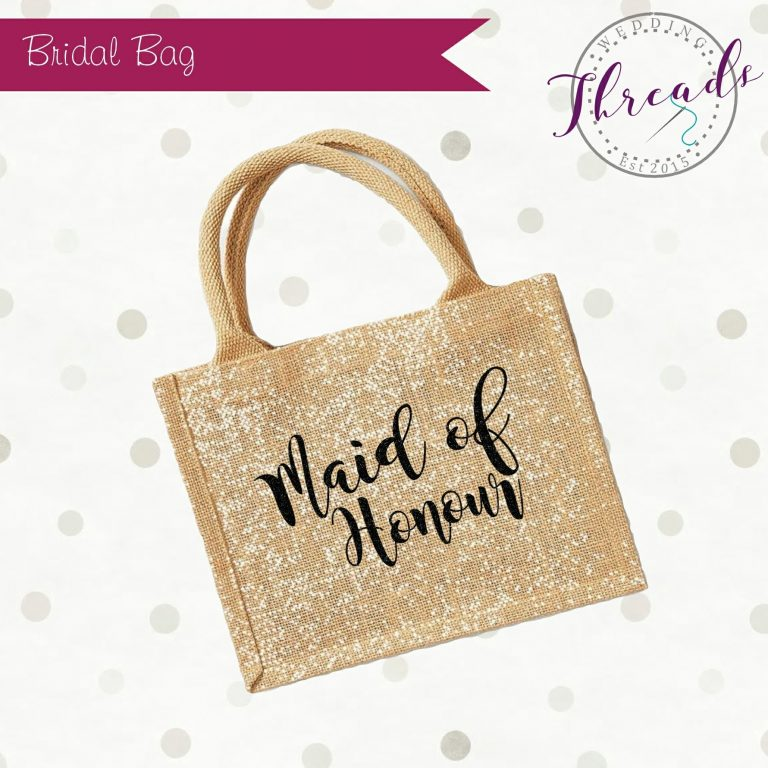 Maid of Honour personalised bag