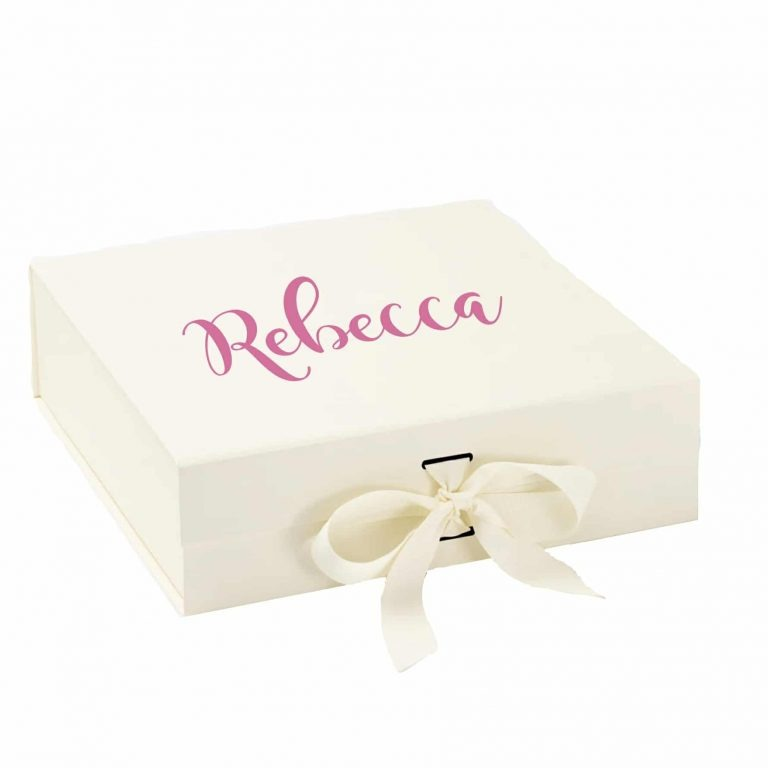 personalised wedding gift box