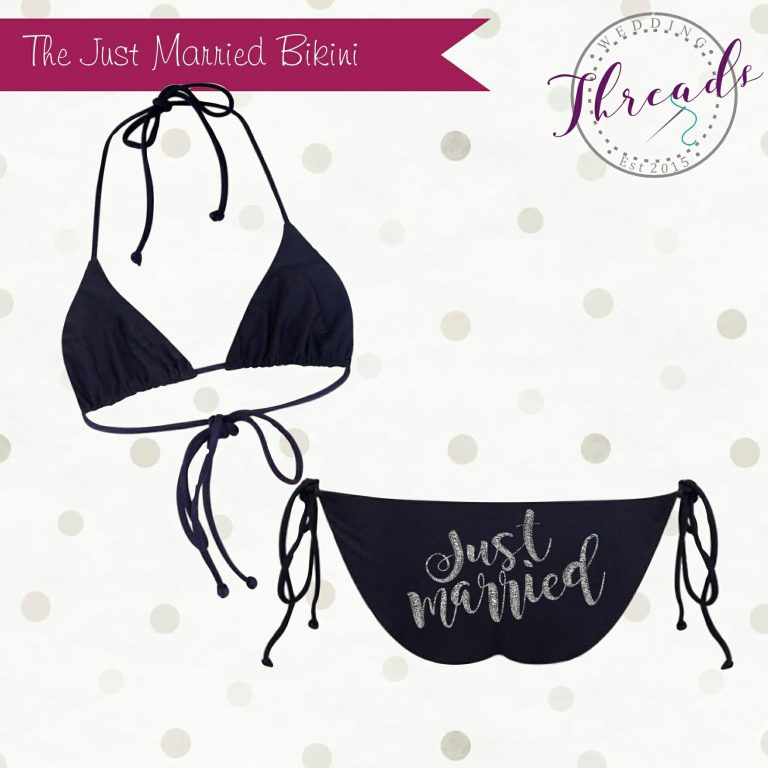 Just Married Bikini swimsuit