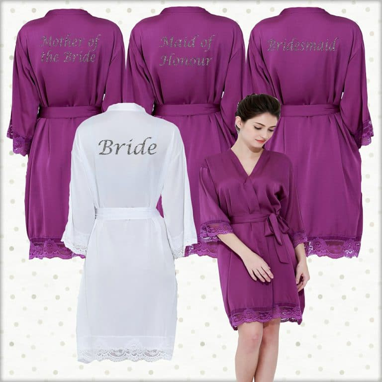 Purple Lace Robes