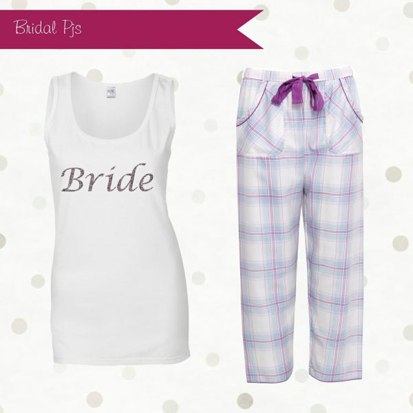 Bride checked Pyjamas