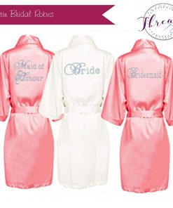 Bride satin Robes / Dressing gown sets