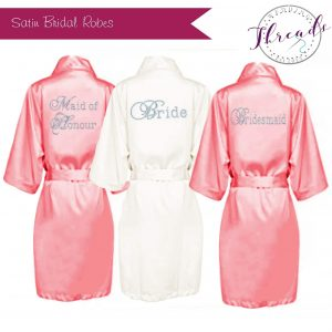 Bride satin Robes / Dressing gowns