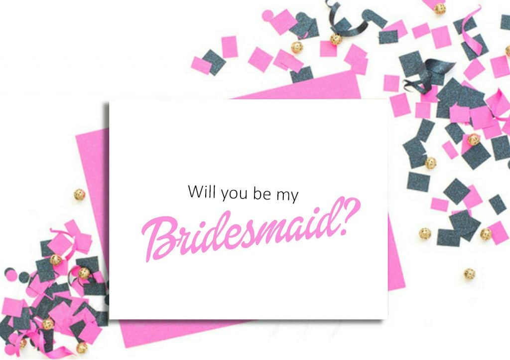 will you be my card