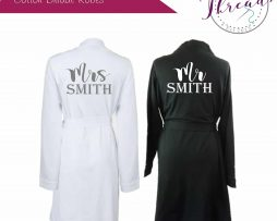 Mr & Mrs Cotton Robes