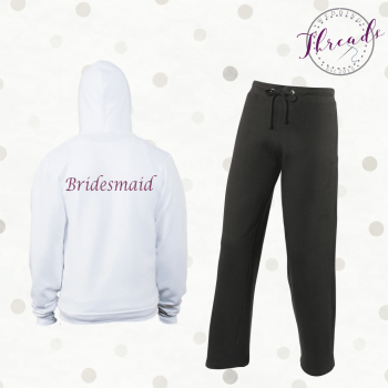 Personalised Bridal Party tracksuit