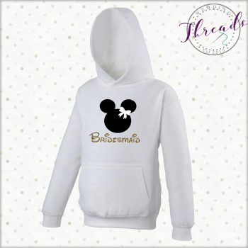 Personalised Bridesmaid Hoodie