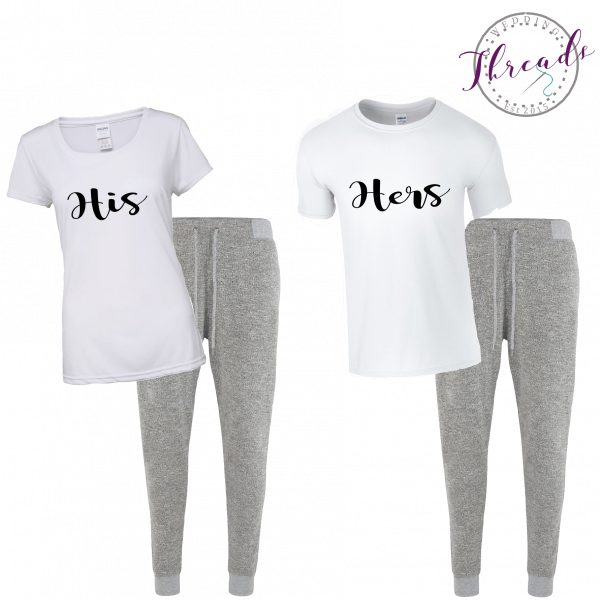 His & Hers lounge set