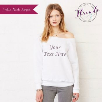 Personalised Bride Jumper