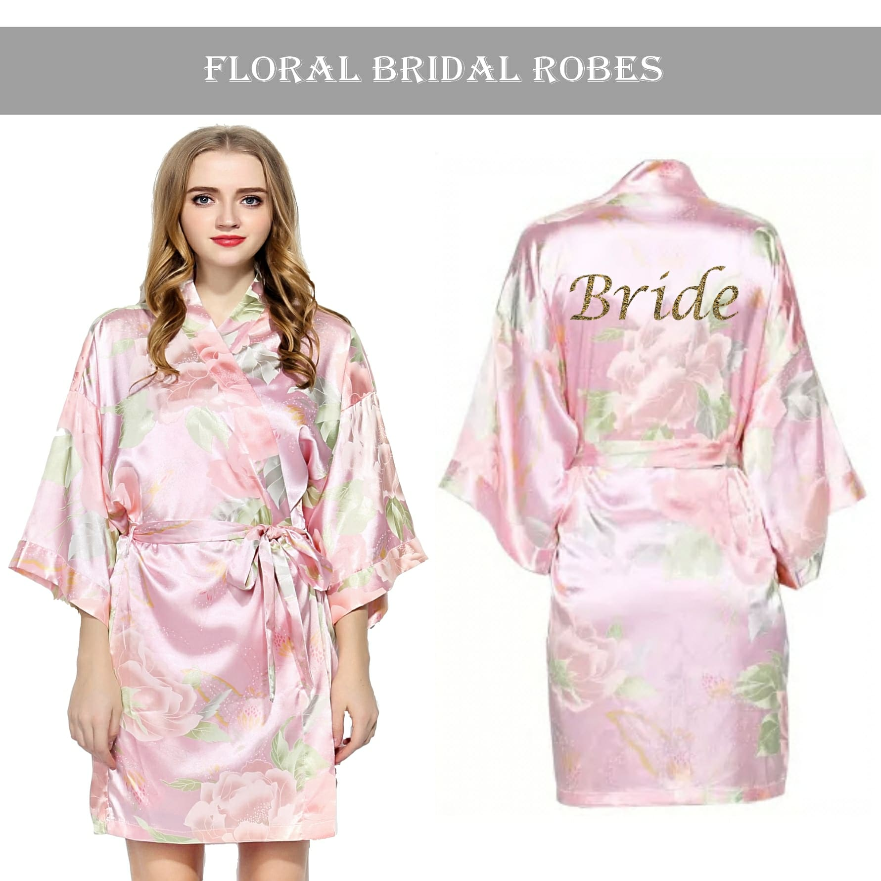 Kimono Robes For Bridal Party