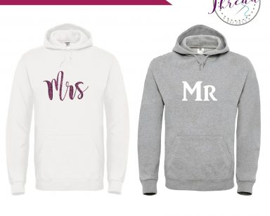 Mr & Mrs personalised sweatshirt