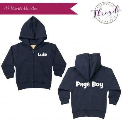 Page Boy Zipped Hoodie