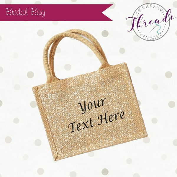Personalised Bridal bag