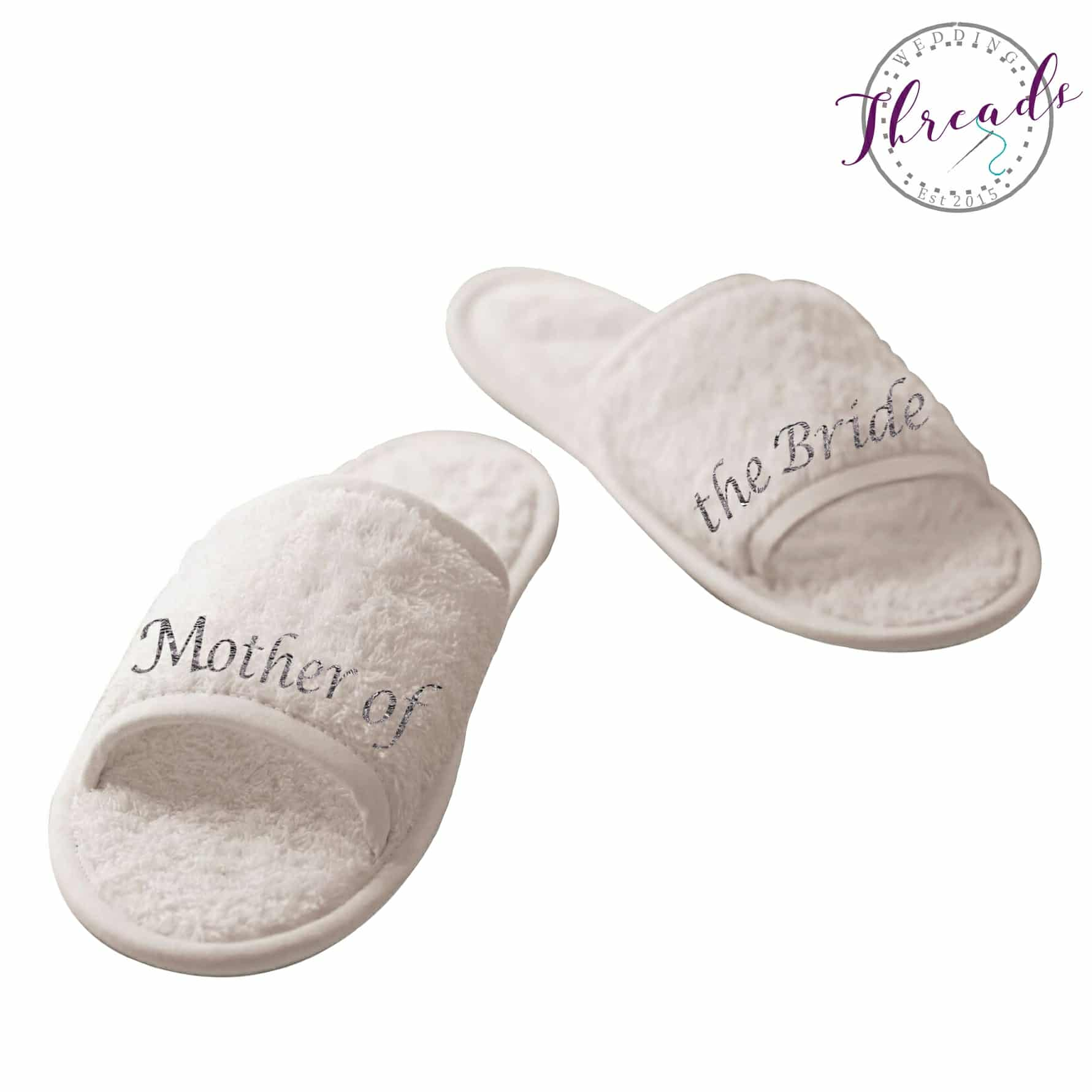 9739be0ce14 Maid of Honour wedding slippers
