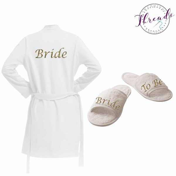 flower girl dressing gown set Archives - Personalised Dressing ...
