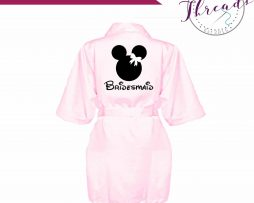 childrens satin robe