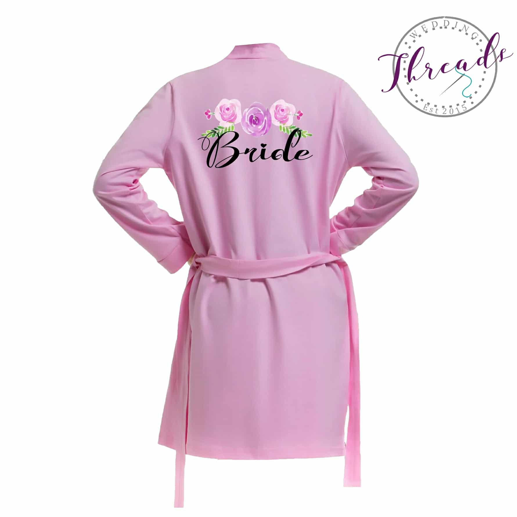 Cotton Personalised robe