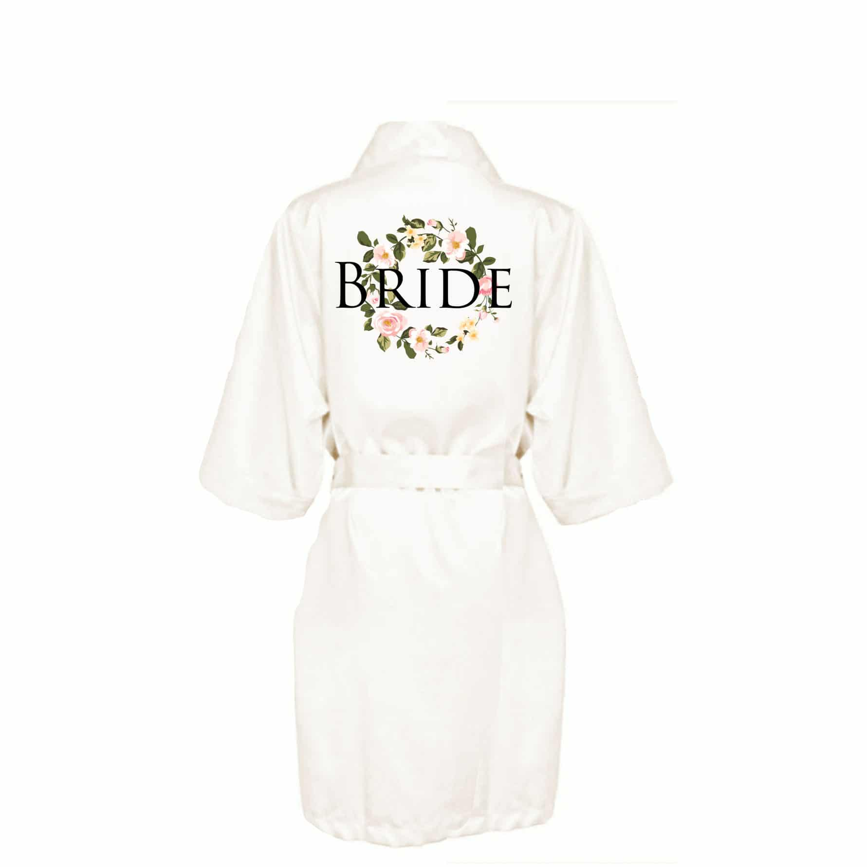 Bridal robe Personalised