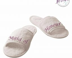 maid of honour slippers