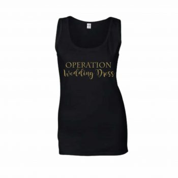 operation wedding dress vest