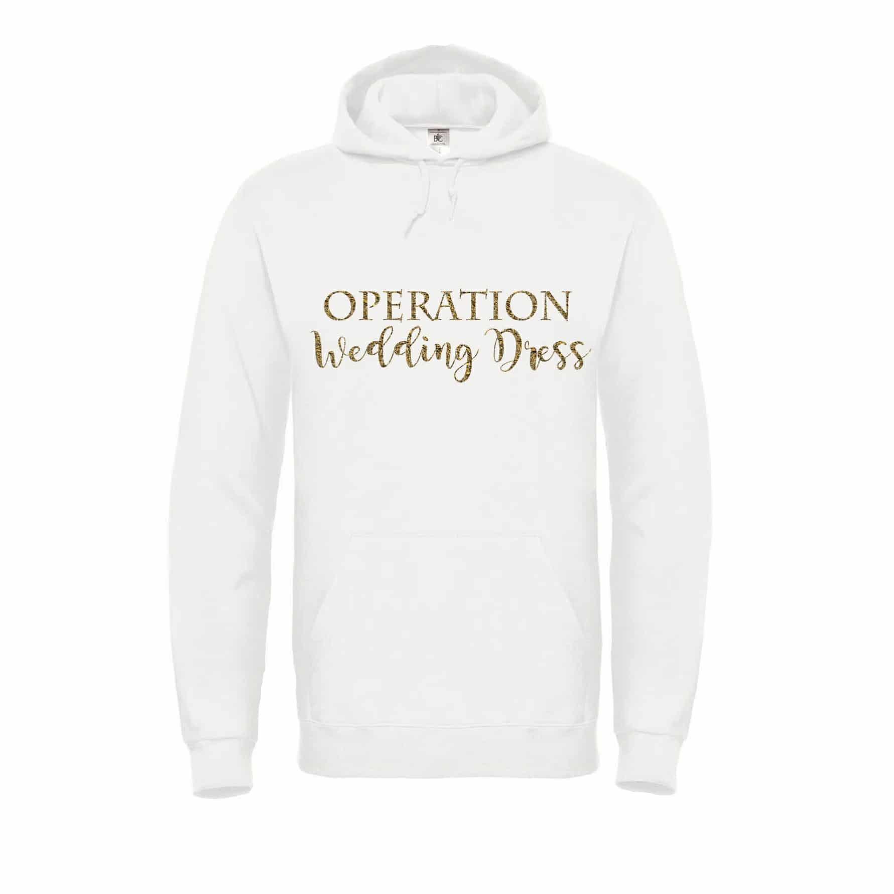 Operation wedding dress Hoodie