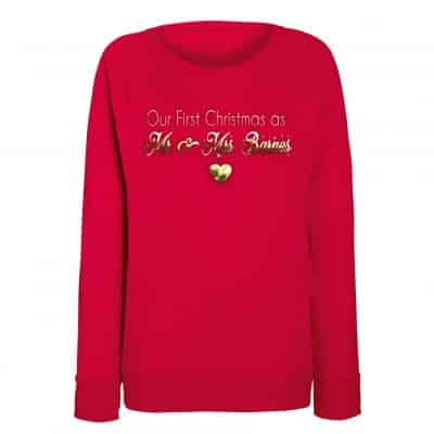 Mr & Mrs Christmas Jumper