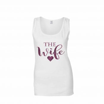 Wife wedding vest