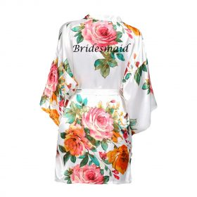 Childrens Floral Robe
