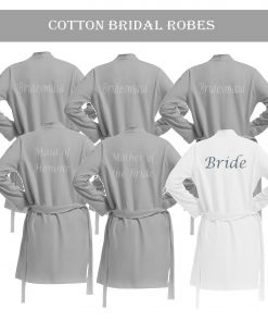 Bridal Robes - Cotton