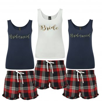 Personalised Wedding Pyjamas
