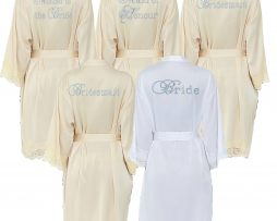 Champagne Lace Robes