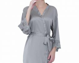 Grey Lace Robes