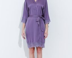 Lavender Lace Robes