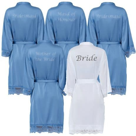 Blue Lace Robes