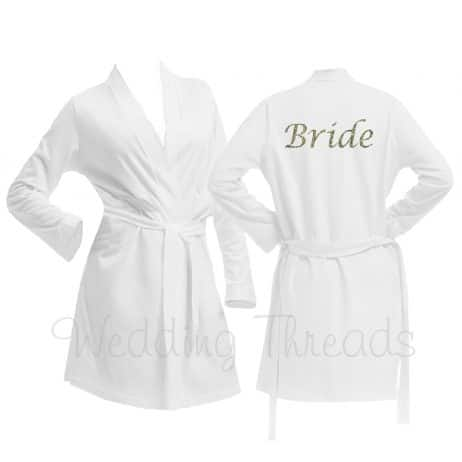 White Wedding Robes