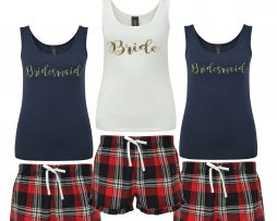 Personalised Bridesmaid Pjs