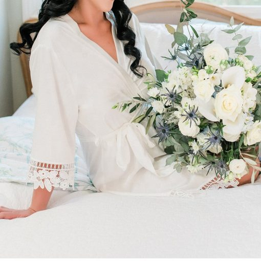 Layla - Wedding Robe Personalised