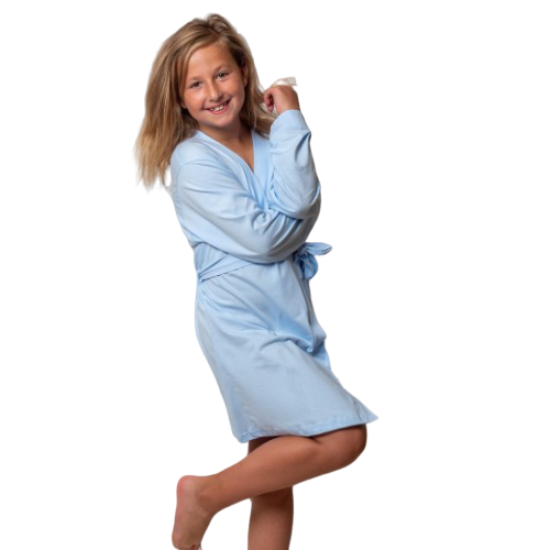 Baby Blue Baby Isabella Flower Girl Robe