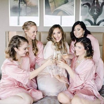 Mia - Satin Bridesmaid Robe