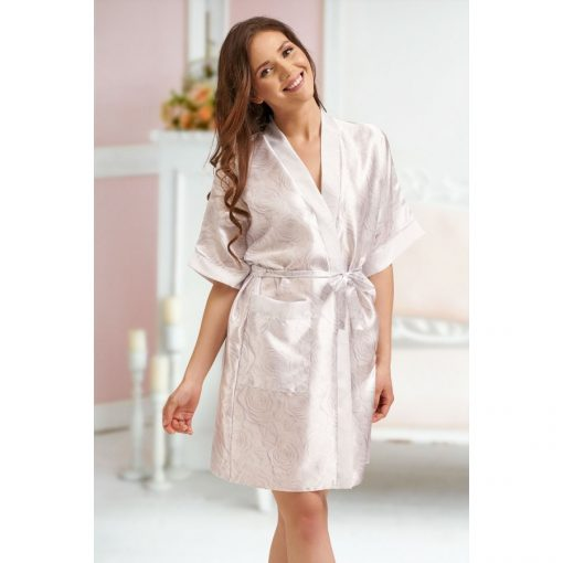 Alice - White floral robe
