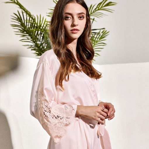 GRACE - SATIN BRIDAL ROBES