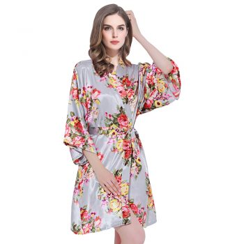 Lottie Grey robe