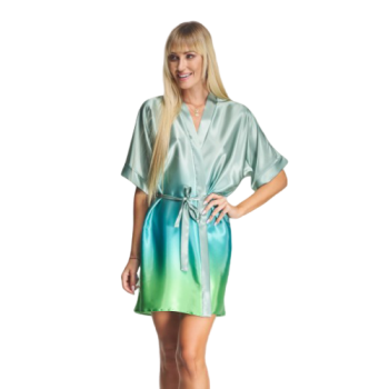Mint Ombre Bridal Robes