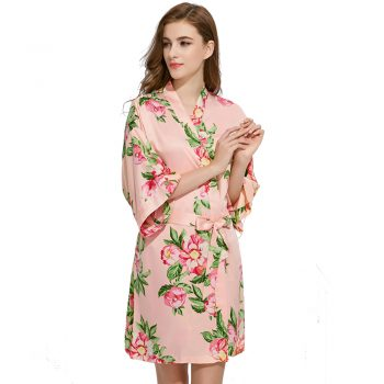 Alice - Bridal Robe Peach